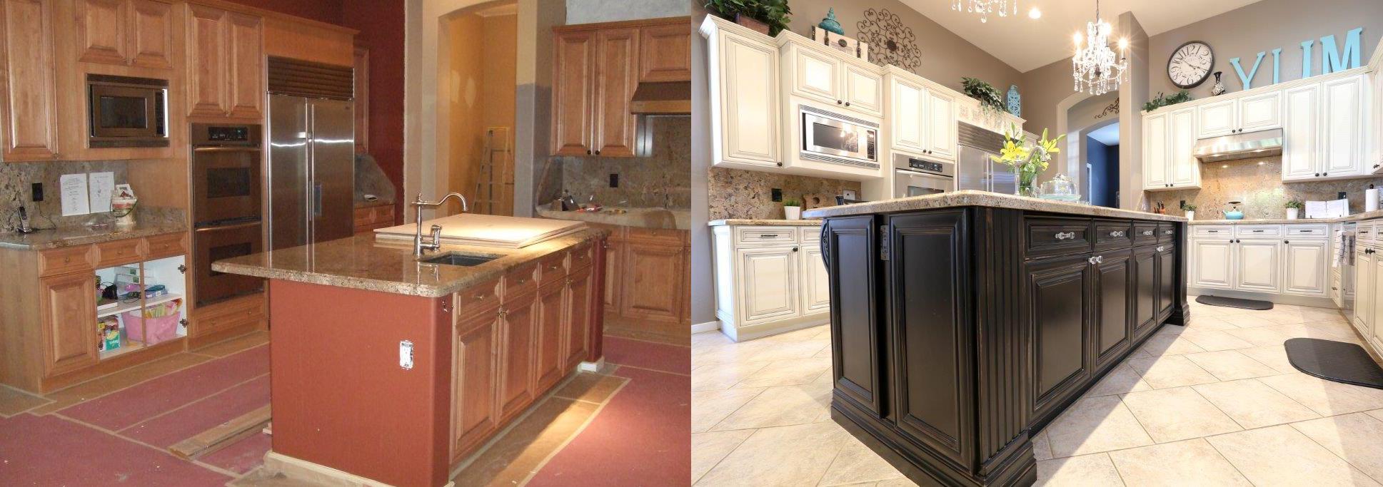 Completely Refinished Cabinets Phoenix Arizona 3