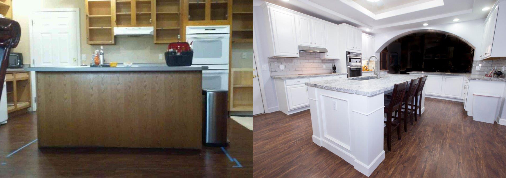 ordinary Kitchen Cabinet Refinishing Phoenix #9: white-cabinet-refinishing-phoenix-2